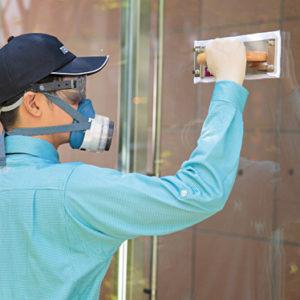 ガラス面防虫サービス